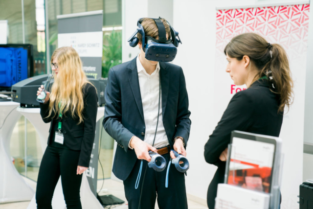 Virtual Reality als Arbeitserleichterung.